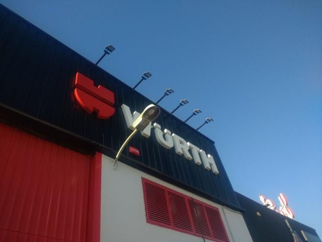 Instalaciones Wurth en Alicante